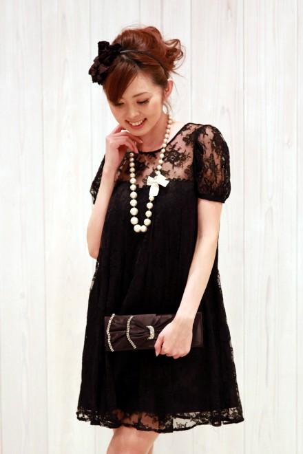 レンタルドレス リトルブラックドレス Anne.